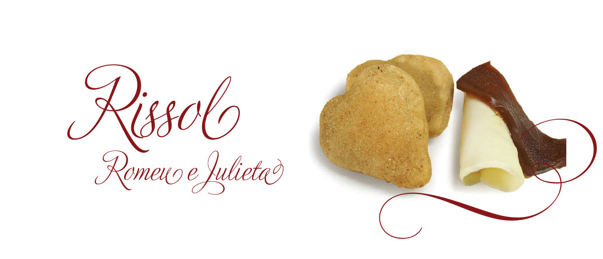 Rissol Romeu e Julieta